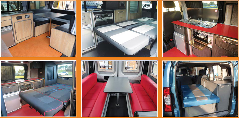 Pictures of recent campervan conversions